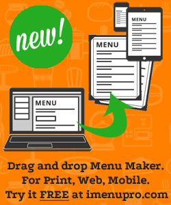 iMenuPro - Restaurant Menu Maker
